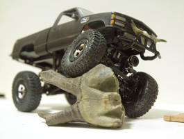 losi micro crawler with c1500 by hannay1982