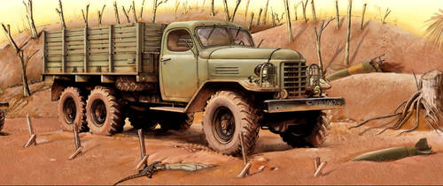 Chinese CA-30 truck by hannay1982