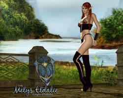 Melys - EQ Cleric by Sabreyn