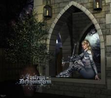 Joslynn Dragonstorm - Paladin by Sabreyn