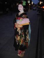 Geisha of Gion by Rinkatsu