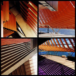 Sydney Opera House Collage by devilsentertainer