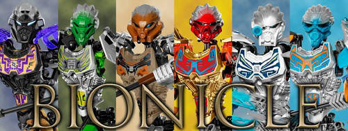 Bionicle 2016 by ToaHeroStudio