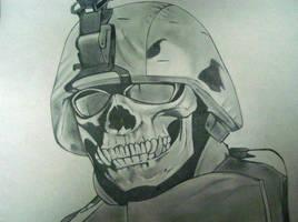 Soldier in Iraq by HoustonTxArtist