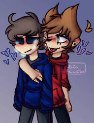 Always there for u!! | Eddsworld | Tomtord by Antonia-Animation