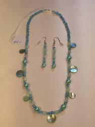 Necklace + Earrings - NE1 by BlingNThings
