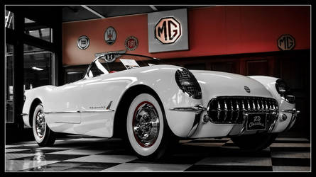 Chevrolet Corvette C1 by Andso
