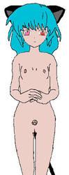Petra naked by RikaPSO