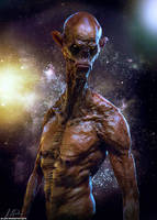 Alien stare down by 1806