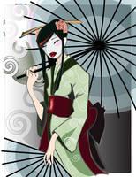 Geisha by LadySarena