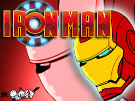 Iron-man-wall by Aldointrepido