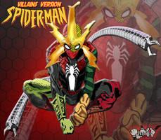 Spider-man-villains-version by Aldointrepido