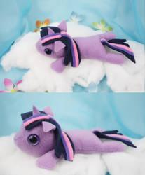 Twilight Sparkle Filly Plush by bluepaws21