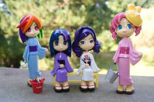 MLP Pinky St Yukata by bluepaws21