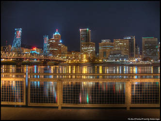 The Glow Of Portland by metro