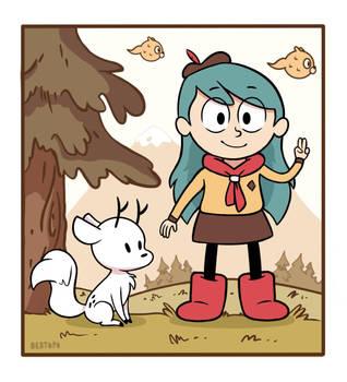Hilda Sparrow Scouts by Bertopo