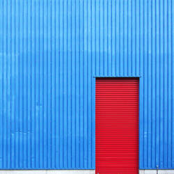 Red on Blue by Einsilbig