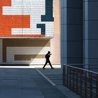 Geometric Walk in Paris by Einsilbig