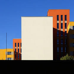 The colorful side of abstraction by Einsilbig