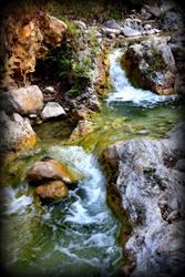 sun , water , stones by gangahimalaya