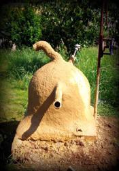 cosmic clay oven by gangahimalaya