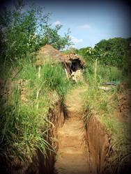 way to the garden house by gangahimalaya