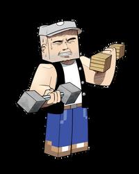 Minecraft skin - RudyWhiteVest by MatiZ1994