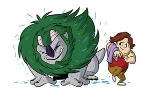 Trollhunters: Shake it off! by bayepaye