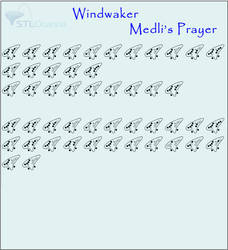 Medli's Prayer- Windwaker by Icicle-C-Cold