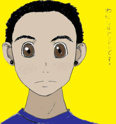 Self Portrait - Anime Colors by Andrecp