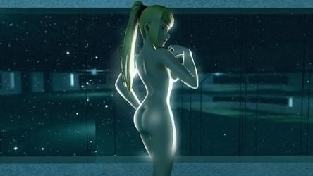 Samus-Cosmic Angel by Ryu-Gi