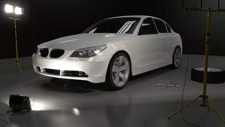 BMW 530 WIP 3rd render by KorruptNinja