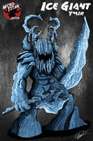 G-Novus: ICE GIANT (YMIR) by QuinDesign