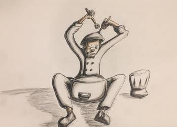 Chef Drummer by dorontuvia123