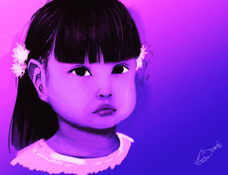 Speedpaint No. 01: Little Girl by QuantumSpectre