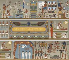 Egyptian variations -frag by art-bat