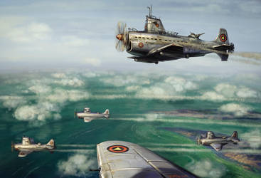 submarine aircraft by art-bat