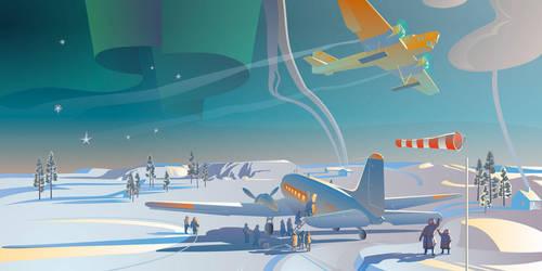Polar aviation by art-bat
