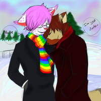 All I want for Christmas is you~ by UnhappyMoustache
