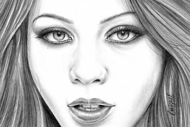 Michelle Tratchenberg by emizael