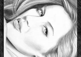 Graphite on paper. by emizael