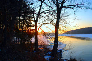 ....Saugatuck Reservoir.... by emizael