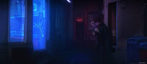Nighttime Idea - Midnight Practice by antonjorch