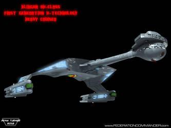 Klingon DX-Class X-Cruiser 4 by Adam-Turner