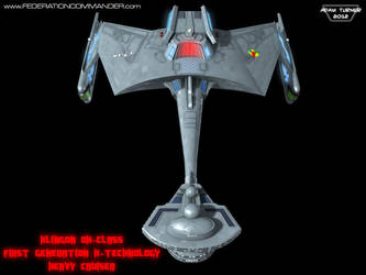 Klingon DX-Class X-Cruiser 6 by Adam-Turner