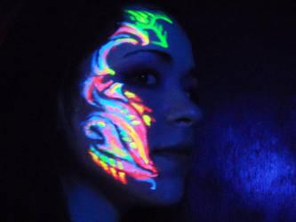 Kallie Face Paint 2 by Adam-Turner