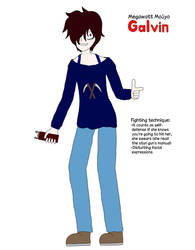 A Look At A Mook: Galvin by YukaTakeuchiFan