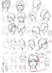 Drawing faces at an angle by moni158