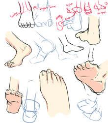 +Feet drawing tips+ by moni158