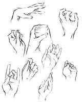Hand study 2 by moni158